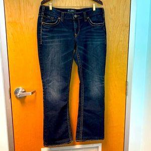 SILVER AIKO Jeans Bootcut Sz 34 x 33